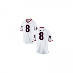 A.J. Green Men Jersey UGA Game White