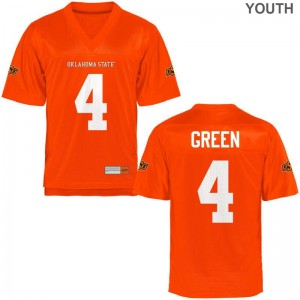 A.J. Green Jerseys Oklahoma State Cowboys For Kids Limited - Orange