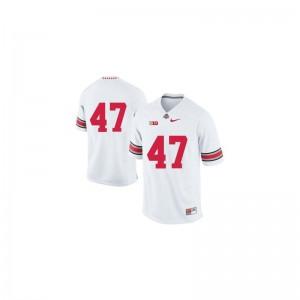 A.J. Hawk OSU Buckeyes Jerseys Limited White For Men