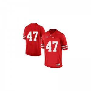 Limited Red A.J. Hawk Jersey Youth(Kids) Ohio State Buckeyes