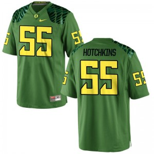 A.J. Hotchkins Oregon Jerseys Game Men - Apple Green