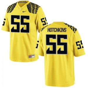 Oregon A.J. Hotchkins Men Game Jersey Gold