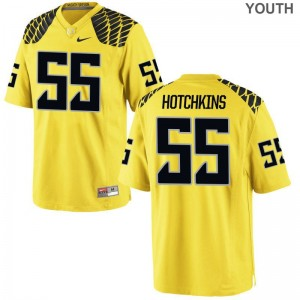 A.J. Hotchkins University of Oregon Game Youth(Kids) Jerseys - Gold