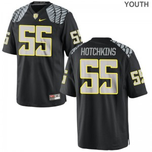 Oregon Ducks A.J. Hotchkins Limited For Kids College Jersey - Black