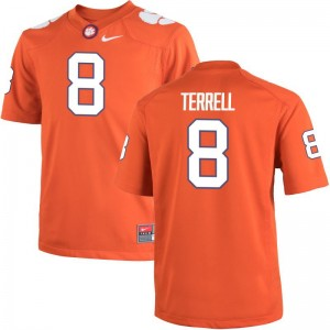 A.J. Terrell Clemson University Jerseys For Men Limited Orange