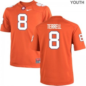 Clemson National Championship A.J. Terrell Jersey Orange Game Kids