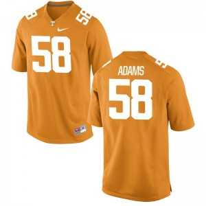 Tennessee Volunteers Aaron Adams Jersey Game For Men Jersey - Orange