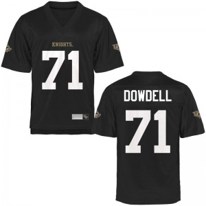 Aaron Dowdell For Kids UCF Knights Jerseys Black Game Jerseys