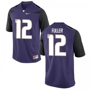 Aaron Fuller Jersey UW Huskies Mens Game - Purple