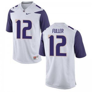 Aaron Fuller Jerseys Washington Huskies For Men Game - White