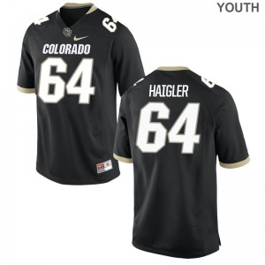 Game Aaron Haigler Jersey UC Colorado Black For Kids