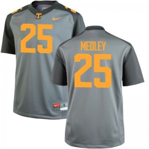 Limited Vols Aaron Medley Mens Gray Jersey