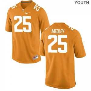 Aaron Medley Jerseys Youth(Kids) Vols Orange Game