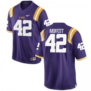 Tigers Aaron Moffitt Jersey Game Purple For Men