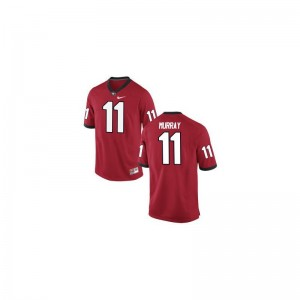 Aaron Murray For Men Jerseys Georgia Game - Red