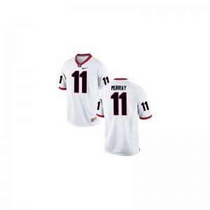 Aaron Murray Georgia Bulldogs Jerseys White Game For Men
