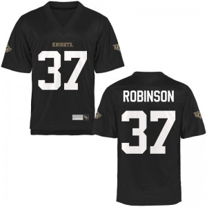 Men Aaron Robinson Jersey Stitched Black Game Knights Jersey