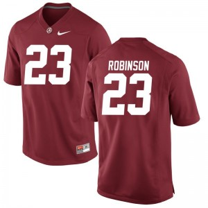 Red Aaron Robinson Jerseys University of Alabama Game For Men