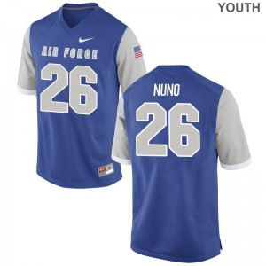 Limited Abraham Nuno Jerseys Air Force Youth(Kids) - Royal