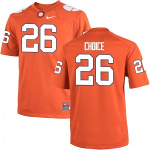 Men Adam Choice Jerseys CFP Champs Orange Game