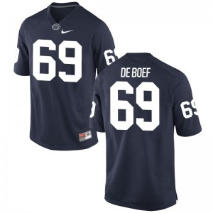 Limited Navy Adam De Boef Jersey Mens PSU