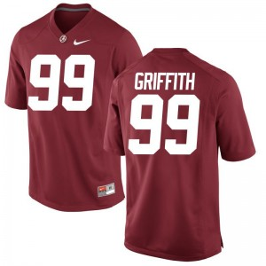 Adam Griffith Alabama Crimson Tide Jerseys For Men Game - Red