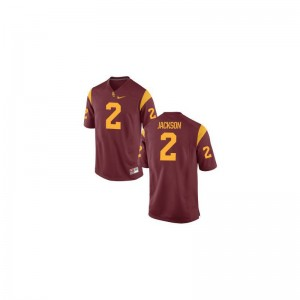 USC Trojans Adoree' Jackson Game Jerseys Cardinal For Men