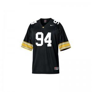 Adrian Clayborn Iowa Jersey Black Limited For Kids