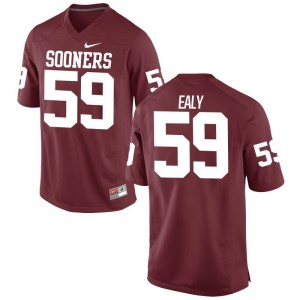 Adrian Ealy Men Jerseys Limited Crimson Oklahoma