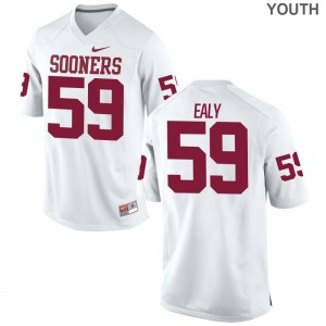 Sooners Jersey Adrian Ealy Youth(Kids) Game - White