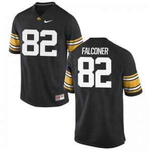 Adrian Falconer Iowa Jerseys Limited Mens Black