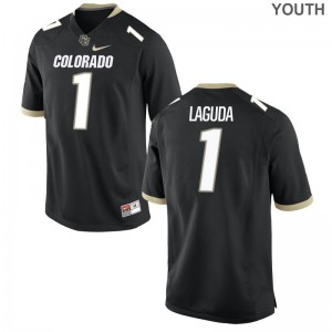 Limited Kids University of Colorado Jersey Afolabi Laguda - Black