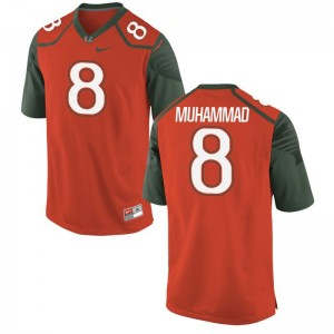 Men Al-Quadin Muhammad Jersey Orange Game Miami Jersey