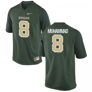 Al-Quadin Muhammad Youth(Kids) Miami Jersey Green Game Jersey