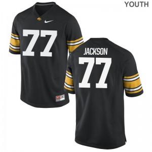 Iowa Jersey Alaric Jackson Youth Limited - Black