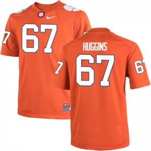 Clemson Tigers Albert Huggins Game Men Stitched Jersey - Orange