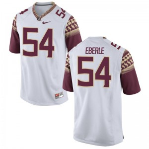 FSU Seminoles Alec Eberle Jersey Game White Mens