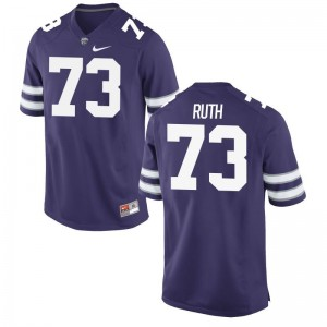 Alec Ruth Jersey Mens Kansas State Purple Limited