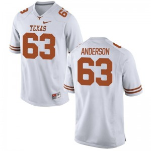 Alex Anderson Jersey UT White Limited Men Stitch Jersey