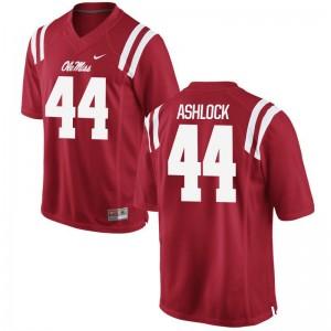 Alex Ashlock Men Jersey Ole Miss Limited - Red