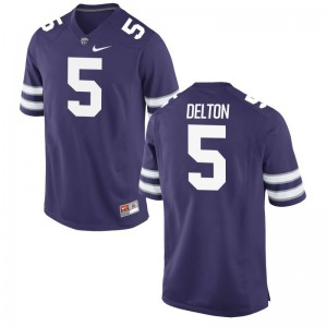 Limited Alex Delton Jersey Kansas State Wildcats For Men - Purple