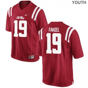 Alex Faniel For Kids Jersey Limited Ole Miss - Red