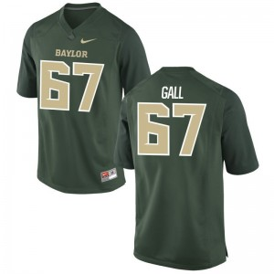 Youth(Kids) Game Miami Hurricanes Jersey Alex Gall - Green
