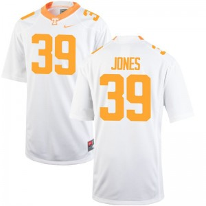UT Mens Game White Alex Jones Jersey