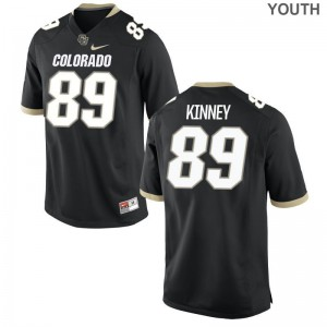 Colorado Alex Kinney Game Youth(Kids) High School Jersey - Black