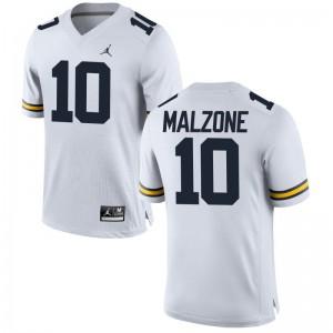 University of Michigan Jordan White Game Youth Alex Malzone Jerseys