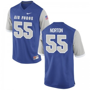 Alex Norton Jersey Air Force Falcons Royal Limited Men Embroidery Jersey
