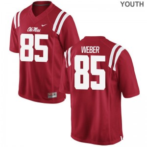 Alex Weber Rebels Jersey Youth Limited Red