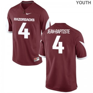 Alexy Jean-Baptiste Arkansas Jersey Youth Game - Cardinal
