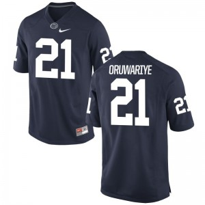For Men Amani Oruwariye Jerseys Navy Game PSU Jerseys